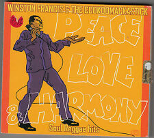 WINSTON FRANCIS & THE COOKOOMACKASTICK - peace love & harmony CD + DVD
