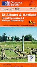 St. Albans and Hatfield, Hemel Hempstead and Welwyn Garden City (Explorer Maps),