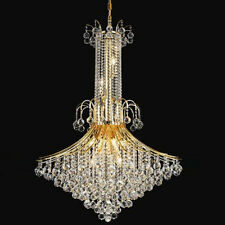 New! Crystal Chandelier Toureg Gold 16 Lights 35X48