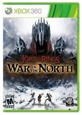 El Señor De Los Anillos Guerra en el norte Nuevo Y Sellado (Microsoft Xbox 360, 2011)