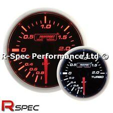 PROSPORT 52 MM Super Ambra/Bianco Turbo Boost Gauge Bar-versione motore passo-passo