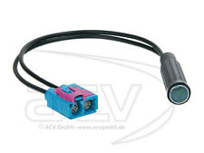 ACV 1521-11 Antennenadapter Audi Seat Skoda VW Doppel-FAKRA (Z) Buchse auf DIN B