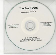 (DS862) The Procession, Cease & Desist - DJ CD