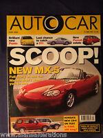 AUTOCAR Magazine 21st May 1997 Mazda MX-5