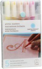 WARM SPECTRUM - Glitter Markers Set - Martha Stewart