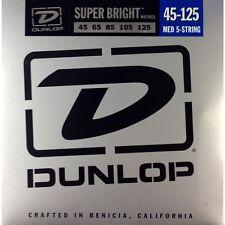 Jim Dunlop DBSBN45125 Bass Guitar Strings - NICKEL 5 STRING 45-125