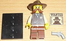 Lego Sammelfigur Serie 13 Sheriff mit Zubehör