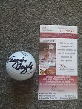 Vaughn Taylor Autographed Signed Golf Ball JSA Authentication - former Ryder Cup