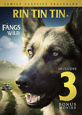 Rin Tin Tin Jr. in Fangs of the Wild: Includes 3 Bonus Movies (DVD, 2016)