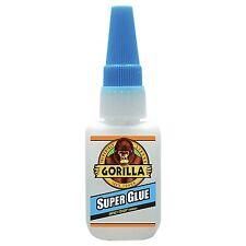 Gorilla Super Glue Impact Tough for Plastic Wood Metal Ceramic Leather Paper