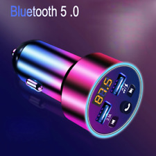 KFZ Bluetooth 5.0 FM Transmitter 2 USB 3.1A Adapter  Auto MP3 Player Ladegerät