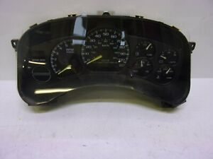 CHEVROLET SILVERADO 1500 PICKUP 1999 Speedometer MPH (US market)