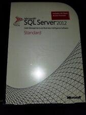 Microsoft SQL Server 2012 Standard,SKU 228-09586,10 CALs,Sealed Retail Box,Full