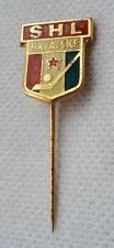 ICE HOCKEY SHL HRVATSKE, Croatian Ice Hockey Association, antique pin, badge !