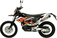 Leo Vince - 8299E - LV One Evo Slip-On, Stainless Steel Muffler KTM 690 Enduro R