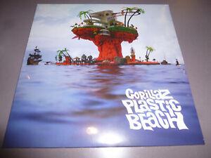 GORILLAZ - Plastic Beach - 2LP Vinyl // Neu & OVP // Gatefold Sleeve