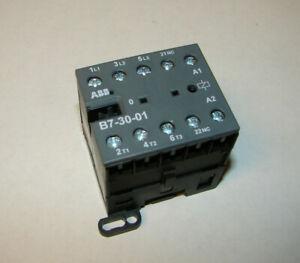 NEW ABB Mini Contractor 3P, 16A, 600vac, Coil 110-127vac, IEC/EN 60947-4-1