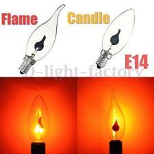 E14 3W Retro Edison LED Ampoule Bulb Bougie Flamme Tail Edison Lampe Chandelier