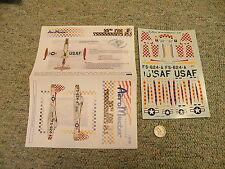 AeroMaster decals 1/72 72-195  F-84 Thunderjets 86th FBG Part I  L115