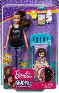 Barbie Skipper Babysitters Inc Bedtime Playset