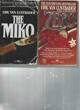 ERIC VAN LUSTBADER - THE MIKO - A LOT OF 2 BOOKS