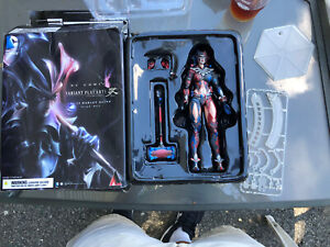 DC Comics Variant Playarts Action Figure Harley Quinn No. 13  Read Broken Parts