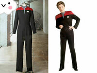 Star Trek: Voyager Cosplay Captain Kathryn Janeway Uniform Costume FF.99