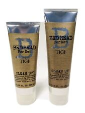 New TIGI Bed Head for Men CLEAN UP Daily Shampoo & Conditioner DUO SET BUNDLE