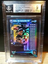 DBZ CCG DRAGON BALL Z GOKU, THE INVINCIBLE SS4 LV 6 #238 LIMITED FOIL BGS 9 MINT