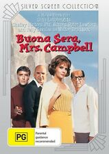BUONA SERA, MRS CAMPBELL - (GINA LOLLOBRIGIDA) - DVD - BRAND NEW!!! SEALED!!!
