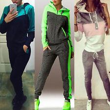 Damen Winter Trainingsanzug Sportanzug Jogginganzug Tracksuit Top Hose Hausanzug