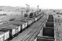 PHOTO BR British Railways View at Cudworth Yard South Junction in 1962