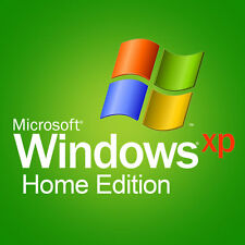 Windows XP Home Edition 32 bit with SP3 original CD & product key & memory