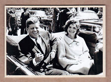 JFK President John F Kennedy '64 extension series #78 With Jackie in Dallas