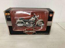 2000 Maisto Die Cast Harley Davidson FLSTF Fat Boy Motorcycle 1/18
