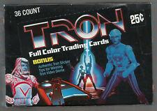 1981-82 DONRUSS TRON UNOPENED 36 PACK BOX VERY NICE TIGHT BOX