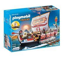 Playmobil 5390 histoire Roman Guerriers Navire Playset un