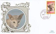 (81188) Guyana Benham FDC Cats - 1 March 2001