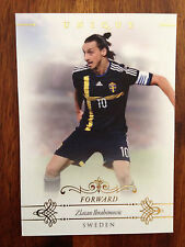 2015 Futera Unique Soccer Card Sweden IBRAHIMOVIC Mint