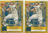 2018-19 PANINI COURT KINGS Victor Oladipo Indiana Pacers 2 CARD LOT