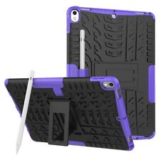 Hybrid Outdoor Skin Case Cover Purple for Apple iPad Pro 10.5 2017 Pouch Case
