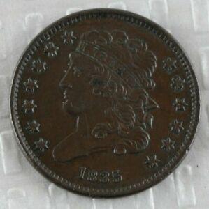 1835 U.S. Half Cent AU-Uncirculated