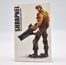 Shrapnel Michael O'Hare Sketchbook 2010 Comics Graphic Art Book