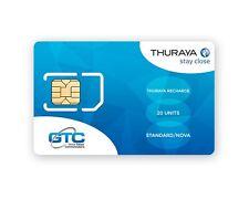 Thuraya SATELLITARE TELEFONO spazio ravvenamento - 20 unità PIN complemento