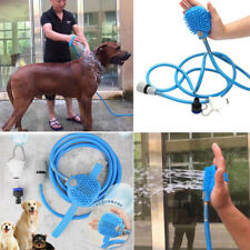 Pets Dog Cat Bathing Cleaner Tools Kit Washing Massage Bath Shower Water Sprayer