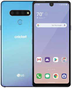 LG Stylo 6 LMQ730AM - 64GB - Blue Smartphone (Free Tempered Glass Included)