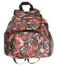 Harley-Davidson Boys' Camo-Printed Packable Pouch Nylon Backpack 7180769