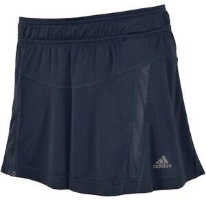 Adidas Adistar Running Skirt Women's Sports Skirt Overskirt Trousers Dark Blue