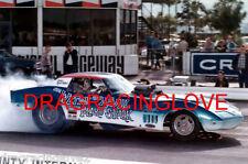 """Mako Shark"" Roger Wolford 1970 Chevy Corvette NITRO Funny Car PHOTO!"