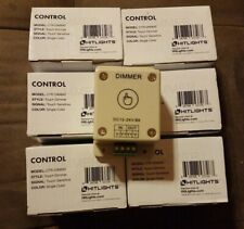 Lot 6- Touch Dimmer Switch for LED Strip Light, 12V 8A Mountable with Terminals